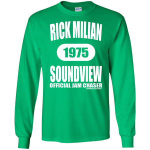 RICK MILIAN SOUNDVIEW (Rapamania Collection) LS Ultra Cotton T-Shirt