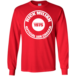RICK  MILIAN OFFICIAL JAM CHASER (Rapamania Collection) LS Ultra Cotton T-Shirt