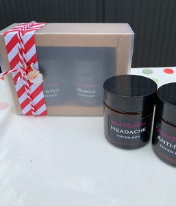 Xmas Remedy Natural Balm Twin Gift Pack