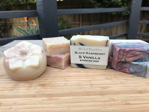 Black Raspberry & Vanilla FO Soap