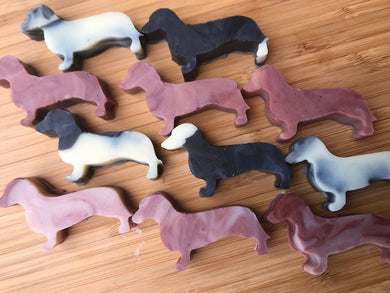 Sausage Dog Soap Shapes (2 pack)