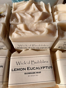 Lemon Eucalyptus EO Soap 90g