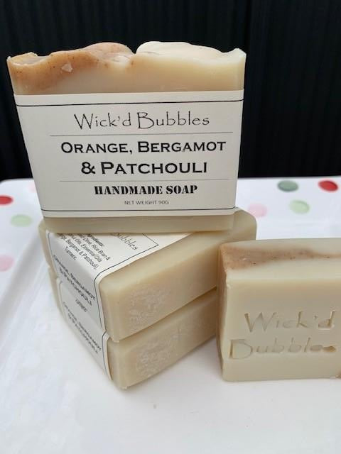 Orange, Bergamot & Patchouli EO Soap 90g