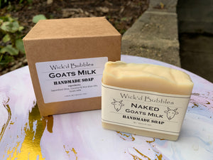 Pure Goats Milk Soap 3 pack