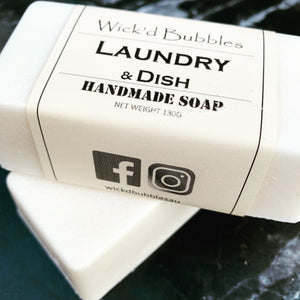 NEW Laundry & Dish EO Soap 130g