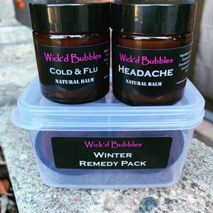 Winter Remedy Natural Balm Pack