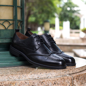 bcaaa71bf Brogue Carving Leather Shoes – UMSHOPP