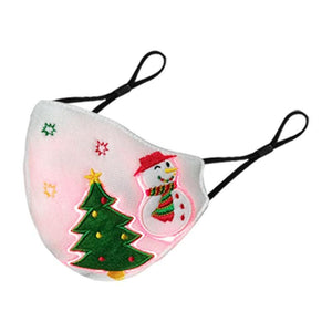 Christmas Party Mask Breathable Earloop Glowing Mask - Ubitrends