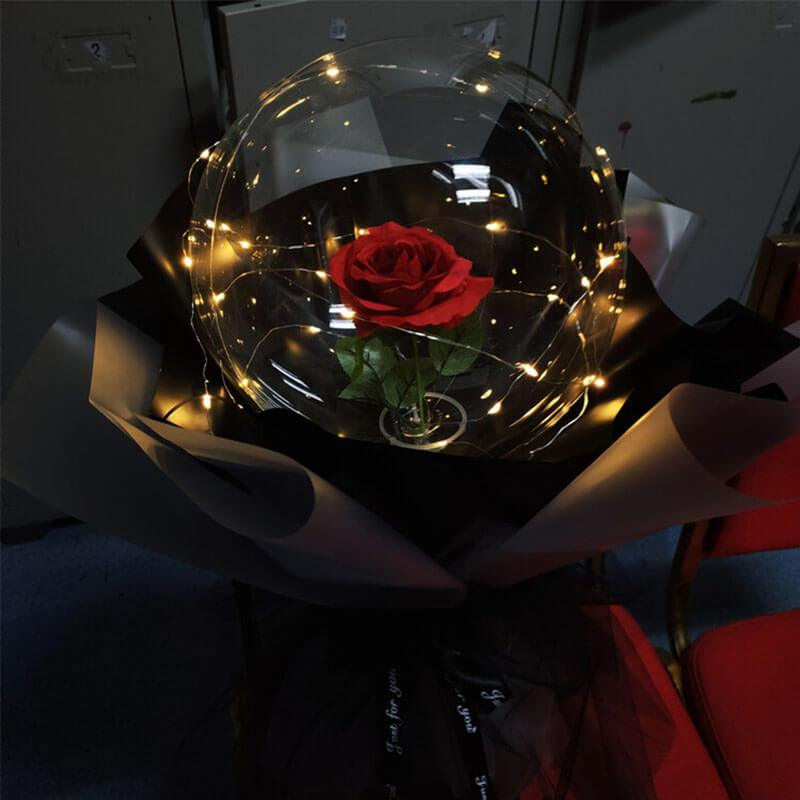 LED Luminous Balloon Rose Bouquet - Ubitrends
