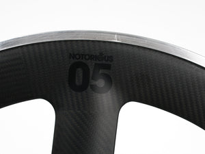 BLB Notorious 05 Carbon REAR Wheel in Black or White