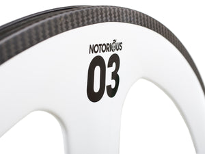 2019 BLB Notorious 03 Full Carbon FRONT Wheel