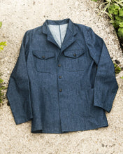 Load image into Gallery viewer, The Spin King & Company 'Steamroller' Denim Work Wear Vintage Style Jacket