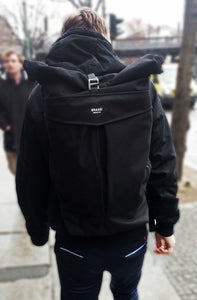 THE LEVO 25 LITRE URBAN BACKPACK IN BLACK BY BRAASI™ INDUSTRIES