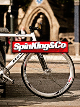 Spin King & Co City Fixie A3 Full Colour 350dpi Poster