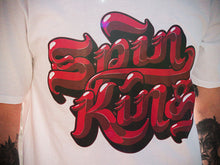 Spin King Clothing© Logohype Vol. 1 Tee in White