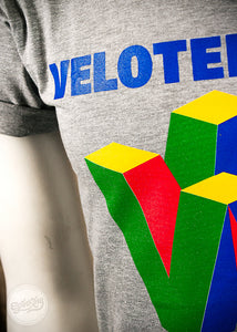 Velotendo Infinity Spoof T-shirt in Sports Grey