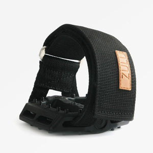 ZULU™ PEDAL STRAPS IN BLACK