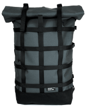 THE WEBBING 18ltr URBAN BACKPACK IN GREY BY BRAASI INDUSTRIES™