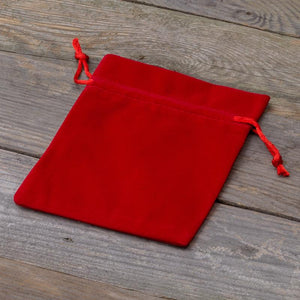 RED VELVET POUCHES - Ibnu Adam
