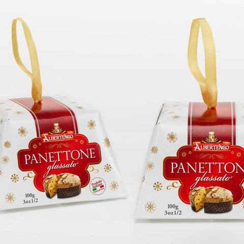 Mini Panettone Traditionnel Décor 100gr - L'entrepôt italien