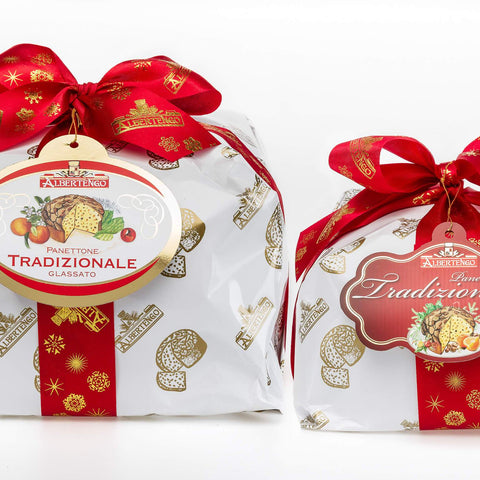 Panettone italien Traditionnel Décor - 1kg