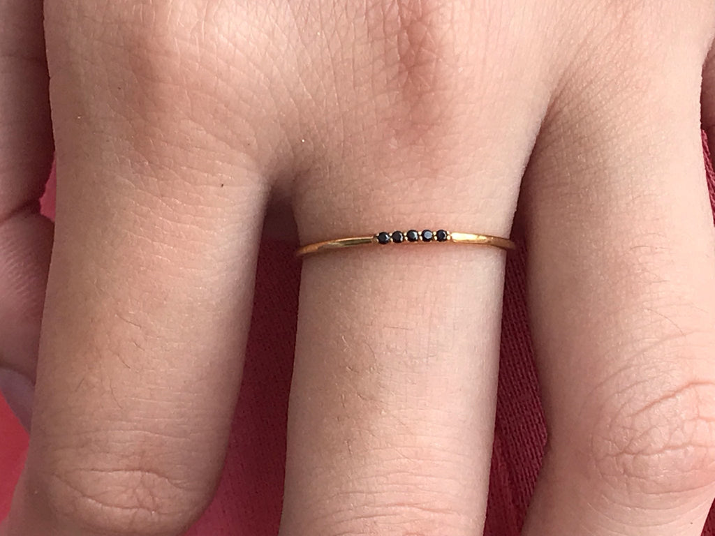 SALE Solid Gold Ring Simple Gold Ring Band  ring 1.0mm 10K Solid Gold Band