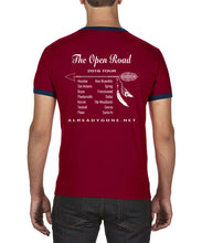 Load image into Gallery viewer, The Open Road Ringer Shirt
