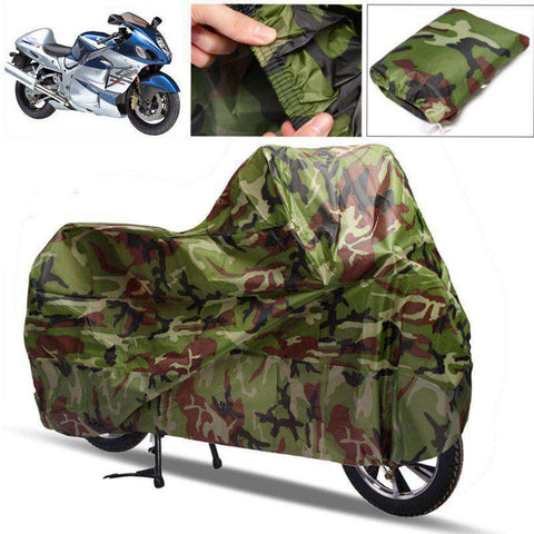 Camouflage Motorcycle Waterproof Cover
