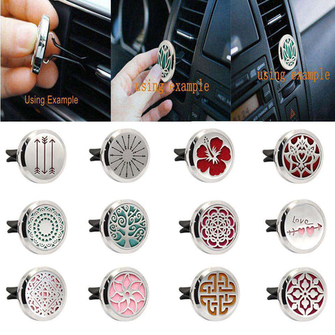 Aromatherapy Essential Car Diffuser