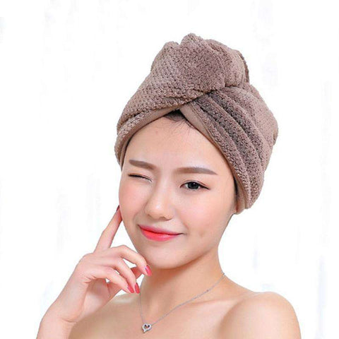 SUPER QUICK Dry Hair Towel