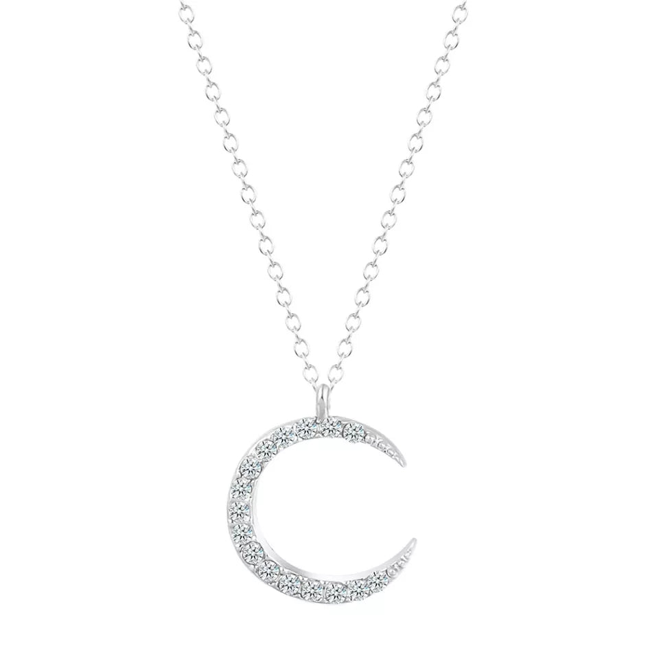 Petit Moon Necklace