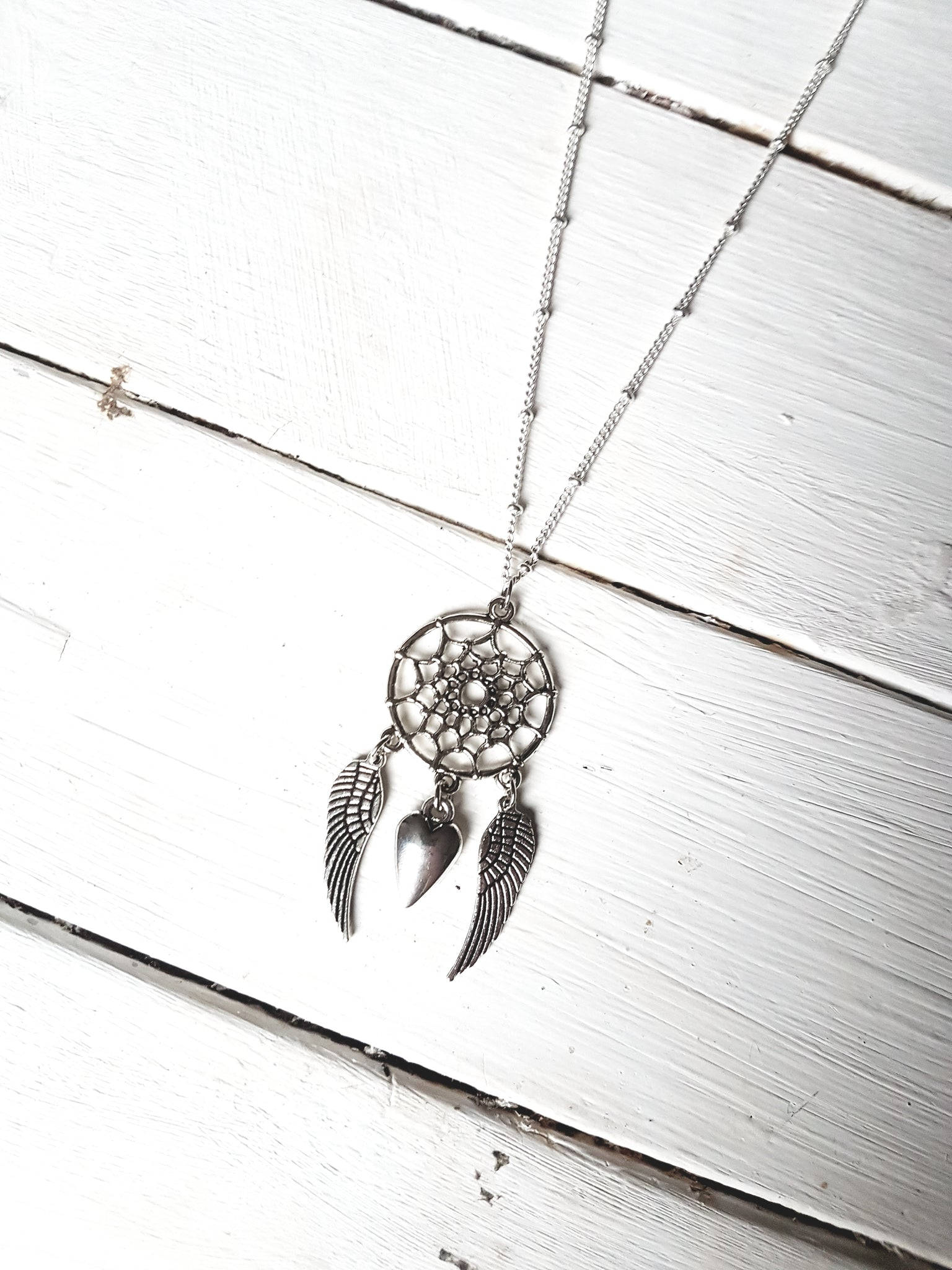 Heart Catcher Necklace