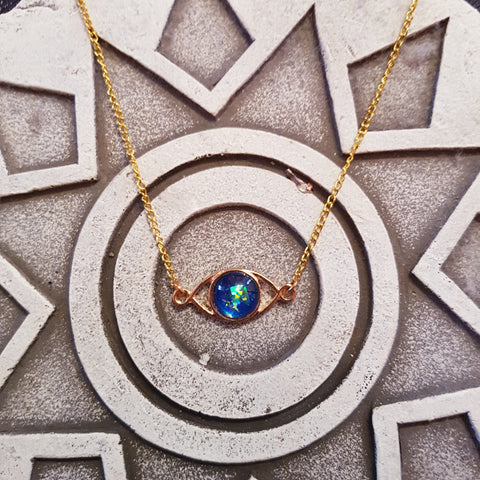 Evil Eye Chelsea Necklace