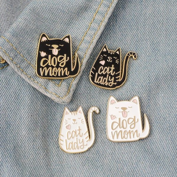 Cat and Dog Pins