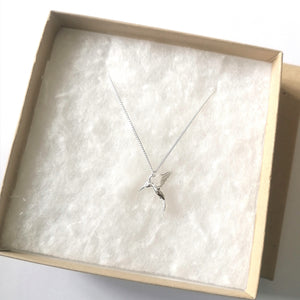 Sterling Silver HummingBird Necklace