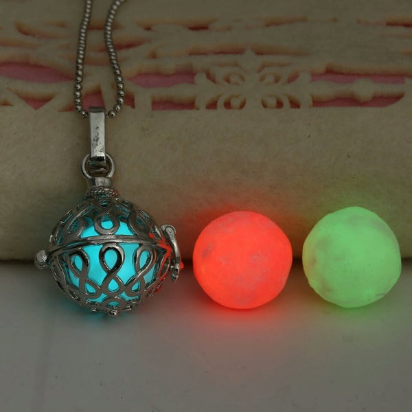 3 Colour Cube Glow Pendant