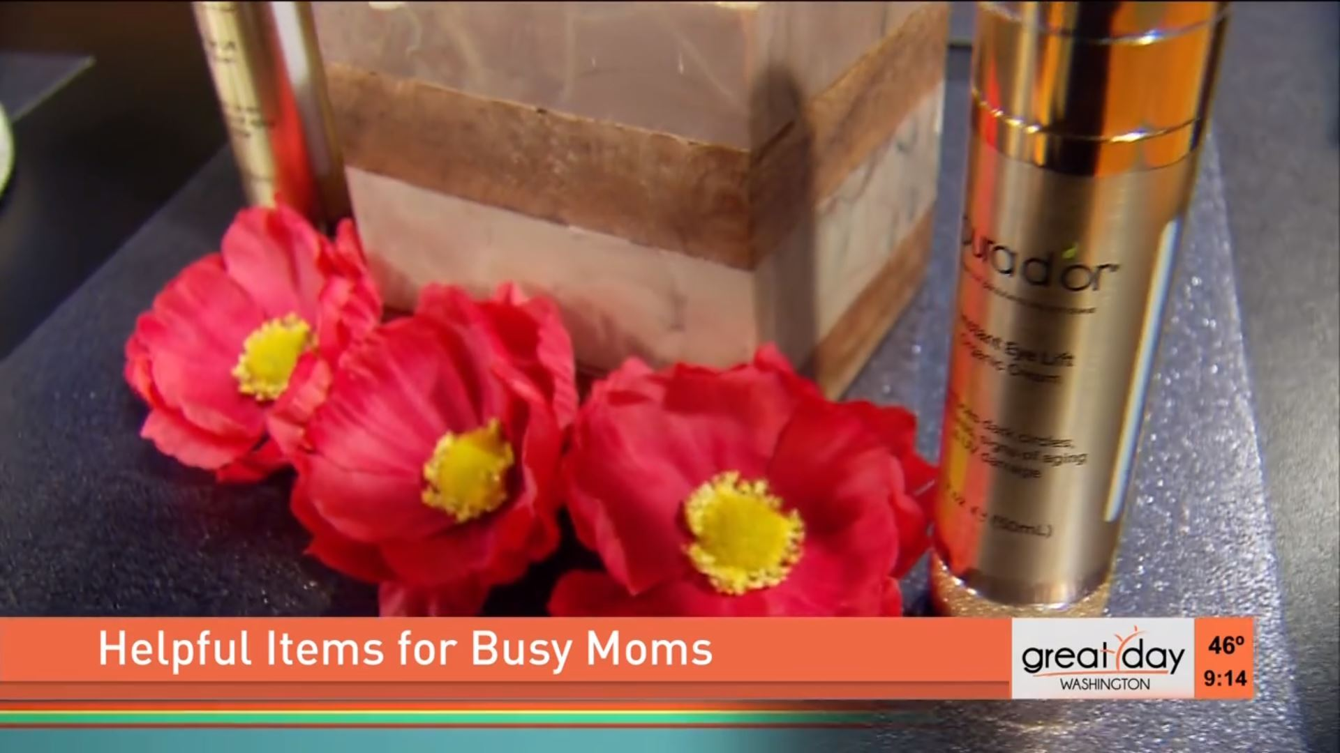 """Helpful Items for Busy Moms"" on Great Day Washington"