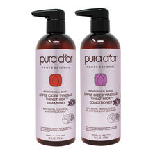 Load image into Gallery viewer, 16oz Apple Cider Vinegar Thin2Thick Shampoo and Conditioner Set