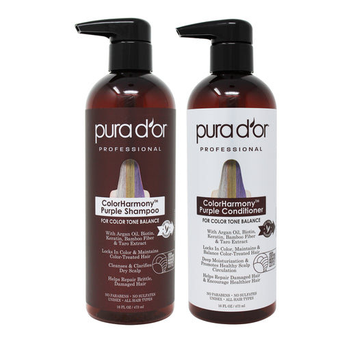 16oz ColorHarmony Purple Shampoo and Conditioner Set