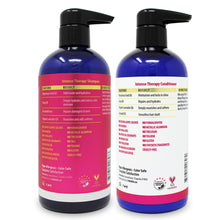 Load image into Gallery viewer, 16oz Intense Therapy Shampoo and Conditioner Set