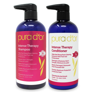 16oz Intense Therapy Shampoo and Conditioner Set