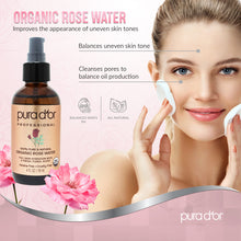 Load image into Gallery viewer, 4oz Organic Rose Water