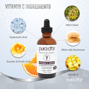 25% Vitamin C Serum with Derma Roller