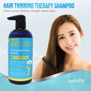16oz Hair Thinning Therapy Shampoo (packaging may vary)