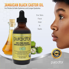 Load image into Gallery viewer, 4oz Jamaican Black Castor Oil