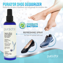 Load image into Gallery viewer, 8oz Shoe and Foot Spray: Shoo Away Bad Odor