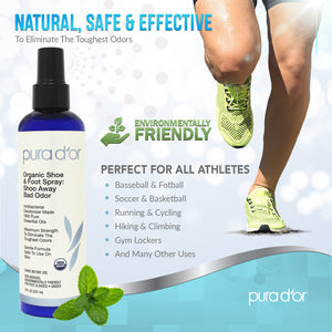 8oz Shoe and Foot Spray: Shoo Away Bad Odor