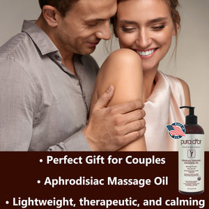 Sensual Organic Massage Oil