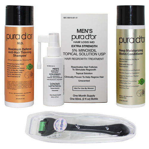 PURA D'OR Men's Hair Loss Regrowth Treatment