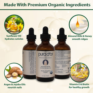 Organic Biotin Cuticle & Nail Oil